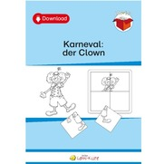 Karneval: der Clown