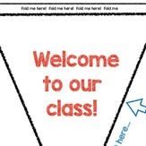 Welcome to our Class Banner